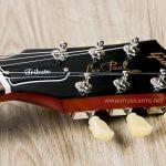 Gibson Les Paul Tribute Satin Honeyburst headstock ขายราคาพิเศษ