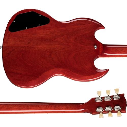 Gibson SG Standard '61ตัวและคอด้านหลัง