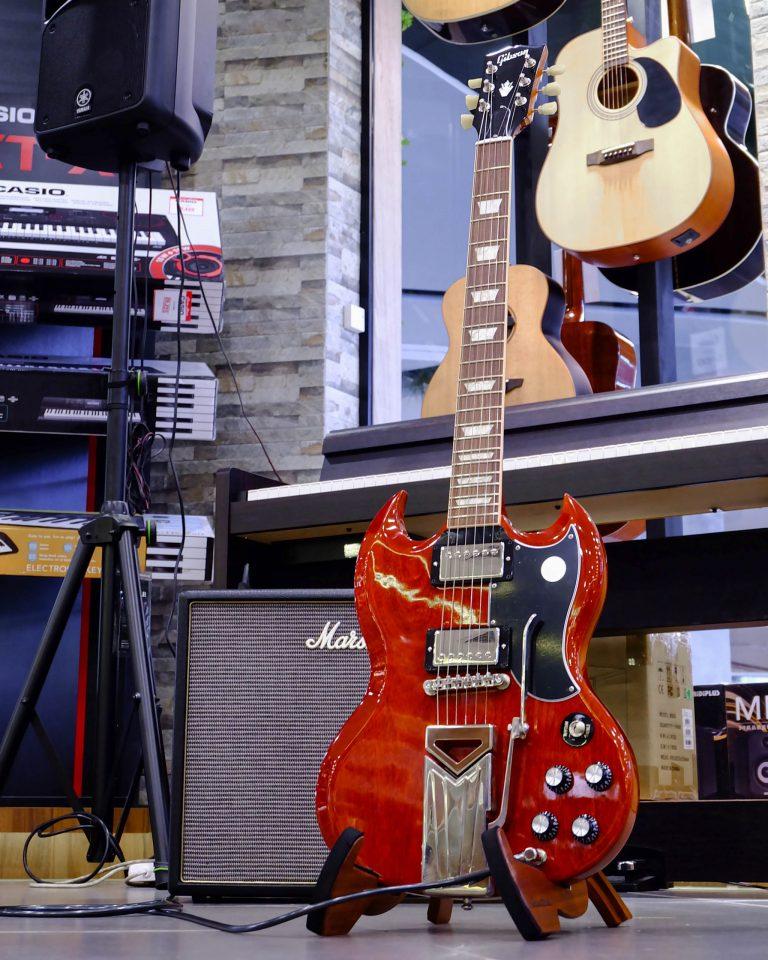 Showcase Gibson SG Standard 61 Sideways Vibrola