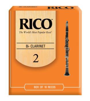 ลิ้นคารีเนท Rico RCA1020 เบอร์ 2 ขายราคาพิเศษ