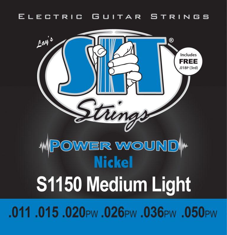 SIT Power Wound Nickel Plated Electric Guitar Strings S1150 ขายราคาพิเศษ