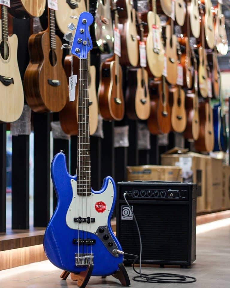 Showcase Squier Contemporary Active Jazz Bass HH V
