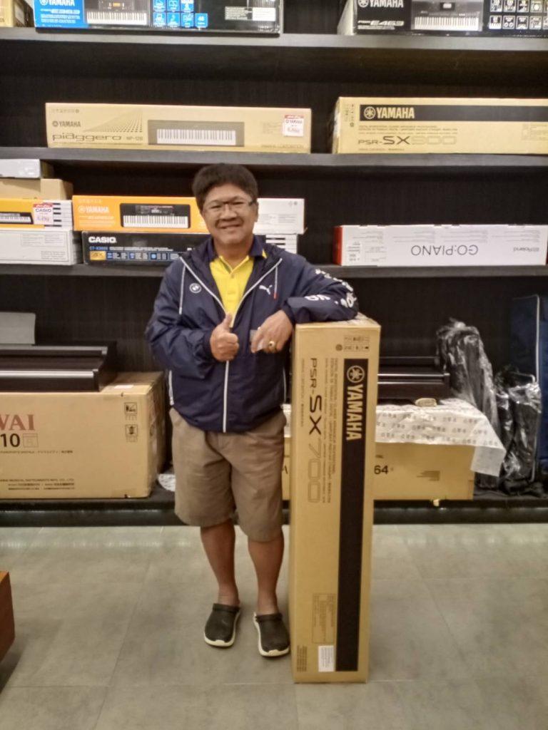 ลูกค้าที่ซื้อ Yamaha PSR-SX700