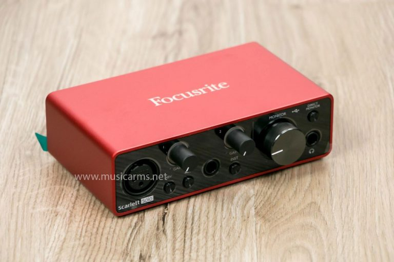 interface Focusrite Scarlett Solo 3rd Gen ขายราคาพิเศษ