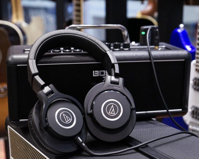 Showcase Audio Technica ATH-M40X