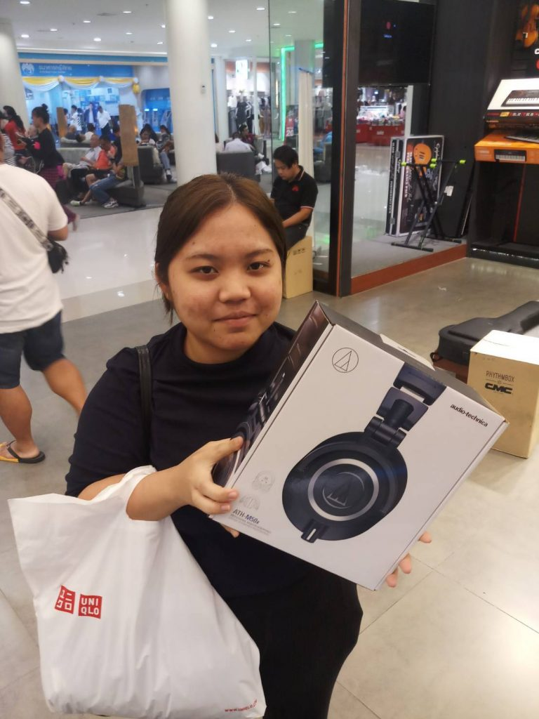 ลูกค้าที่ซื้อ Audio Technica ATH-M50X