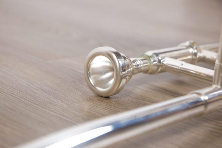 ทรอมโบน Mraching Trombone coleman standard trombone Silver จุดคันชัก ขายราคาพิเศษ