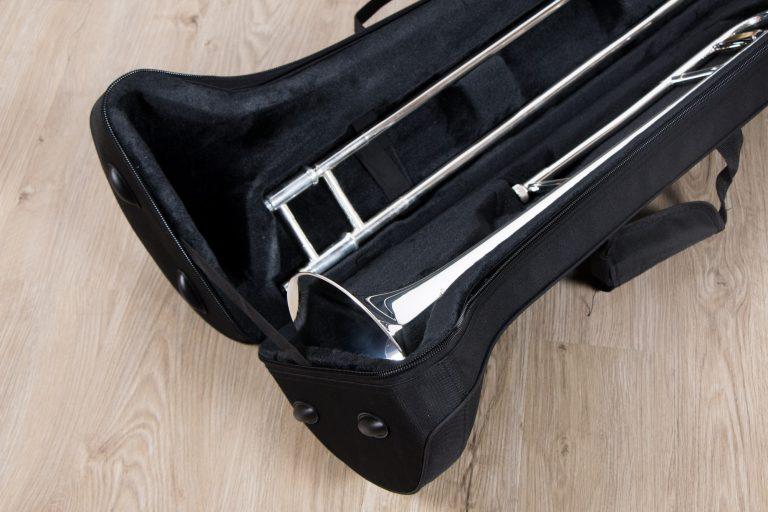 ทรอมโบน Mraching Trombone coleman standard trombone Silver ภายในกระเป๋า ขายราคาพิเศษ
