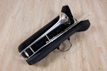 ทรอมโบน Mraching Trombone coleman standard trombone Silver เต็มตัวมีกระเป๋า
