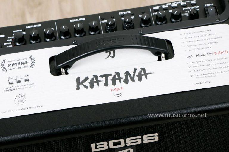 ด้านบน Boss Katana 100 MkII ขายราคาพิเศษ