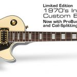 Epiphone Les Paul Custom Blackback Pro ลดราคาพิเศษ
