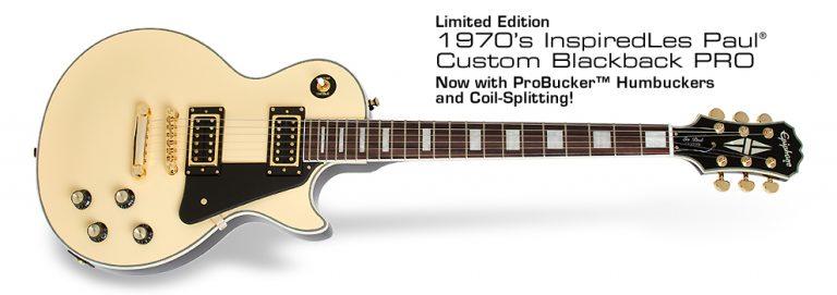 Epiphone Les Paul Custom Blackback Pro ขายราคาพิเศษ