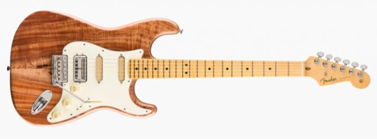 Fender Rarities Flame Koa Top Stratocaster ขายราคาพิเศษ