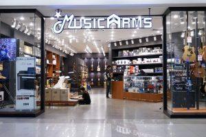 ร้าน Music Arms สาขาฟิวเจอร์ปาร์ค รังสิต ชั้น 2