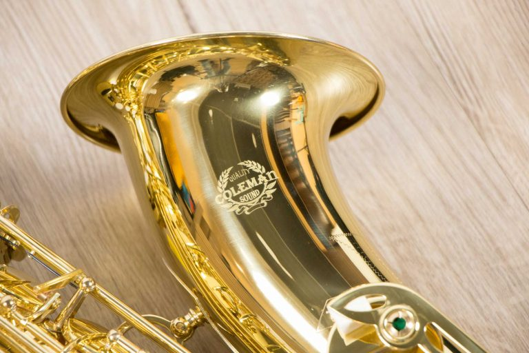 Saxophone Tenor Coleman Standard GOLD Bell side ขายราคาพิเศษ