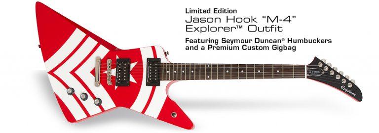 "Epiphone Jason Hook ""M-4"" Explorer Outfit ขายราคาพิเศษ"