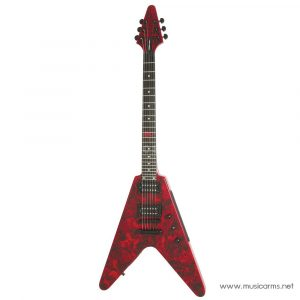 Face cover Epiphone Jeff Waters Annihilation-II Flying V Outfit