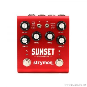 Face cover Strymon-Sunset-Dual-Overdrive