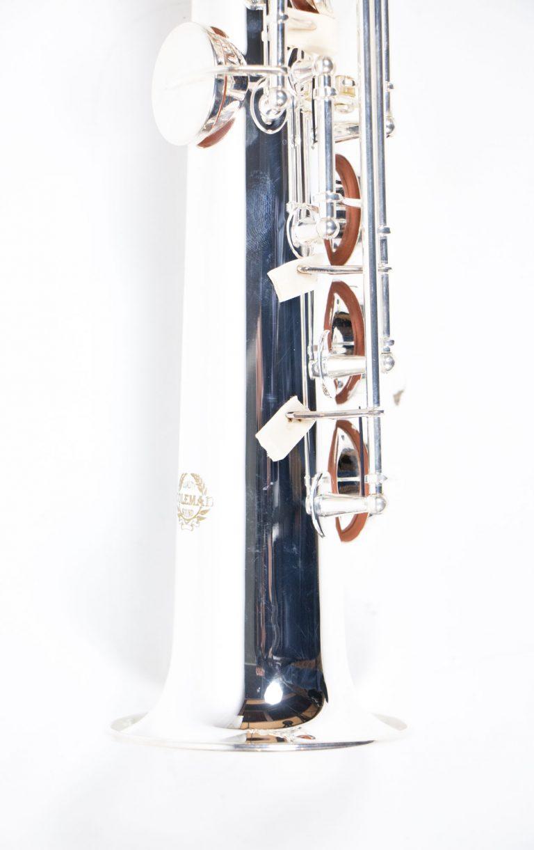 แซคโซโฟน Saxophone Soprano Coleman Standard Silver เบล ขายราคาพิเศษ