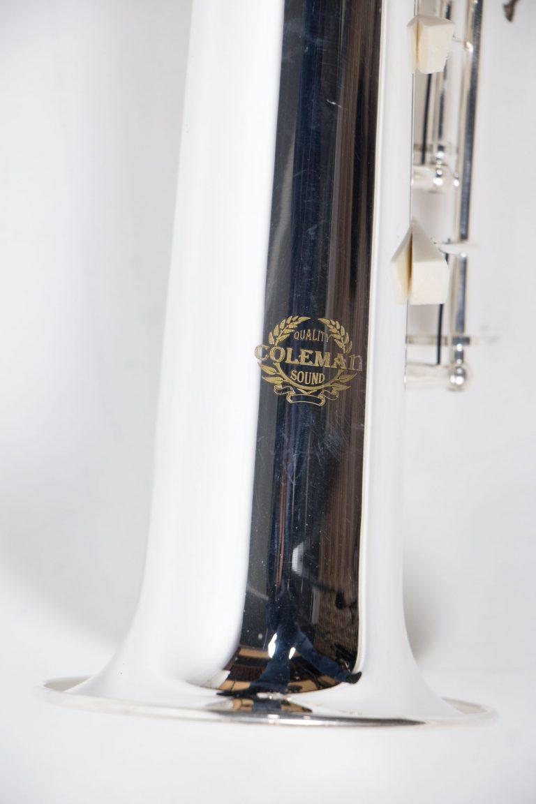 แซคโซโฟน Saxophone Soprano Coleman Standard Silver บอดี้โลโก้ ขายราคาพิเศษ