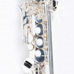 แซคโซโฟน Saxophone Soprano Coleman Standard Silver คีย์ close up ขายราคาพิเศษ