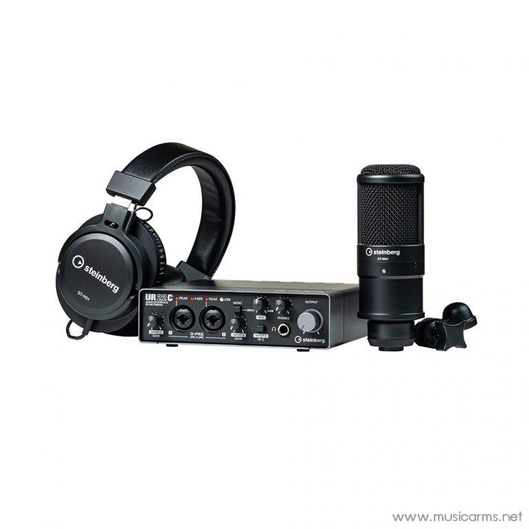 Face cover Steinberg-UR22C-Recording-Pack ขายราคาพิเศษ