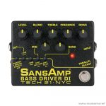 Face cover Tech-21-SansAmp-Bass-Driver-DI-V.2 ลดราคาพิเศษ