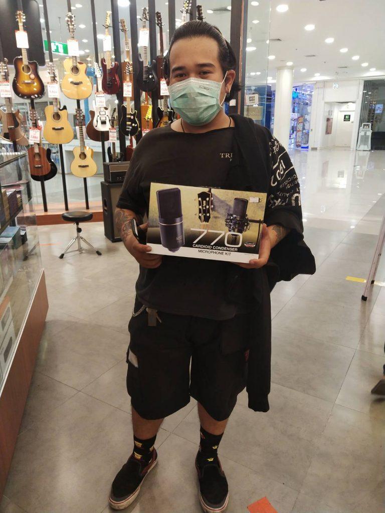 ลูกค้าที่ซื้อ MXL 770 Condenser Microphone