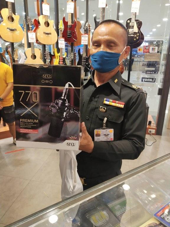 ลูกค้าที่ซื้อ MXL 770X Multi-Pattern Condenser Microphone