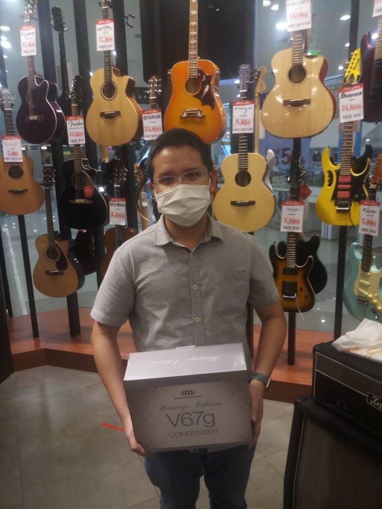 ลูกค้าที่ซื้อ MXL V67G HE Large Capsule Condenser Microphone