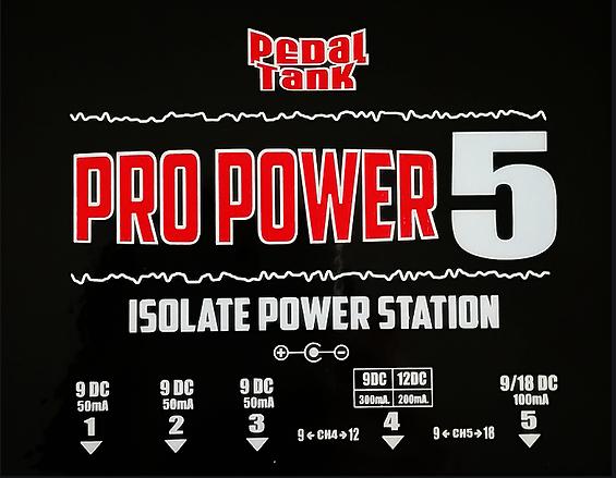 PedalTank Pro Power 5 isolate power supply ขายราคาพิเศษ