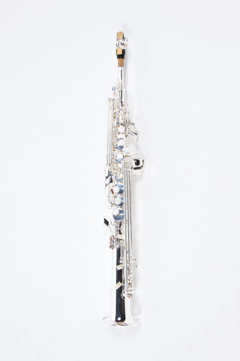 แซคโซโฟน Saxophone Soprano Coleman Standard สีเงิน บอดี้ตัวเต็ม ขายราคาพิเศษ