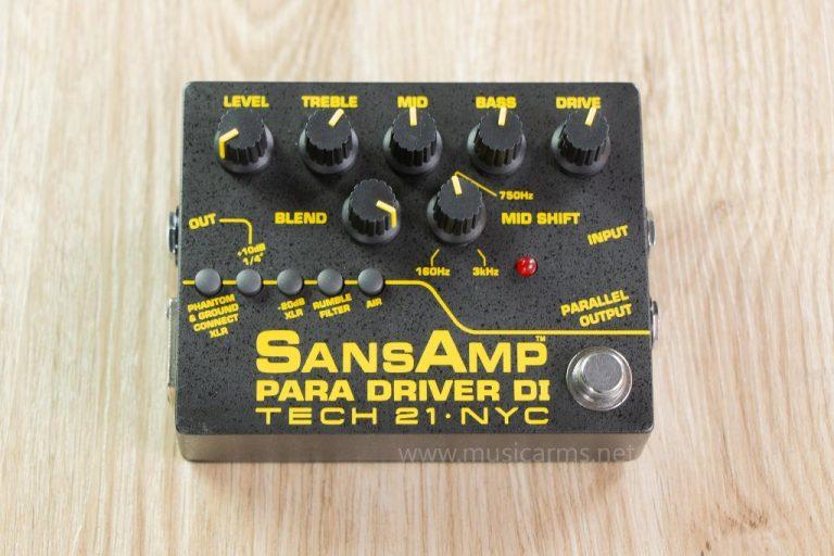 Tech 21 SansAmp Para Driver DI (v2) เอฟเฟค ขายราคาพิเศษ