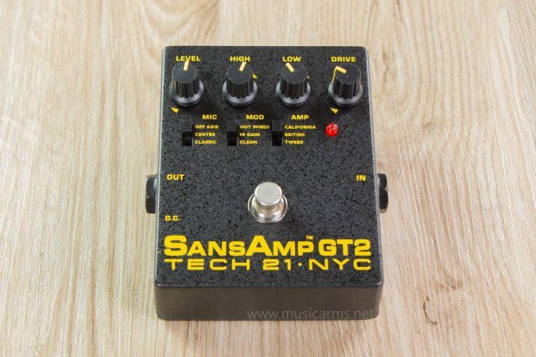 Tech 21 Sansamp GT2 เอฟเฟค ขายราคาพิเศษ