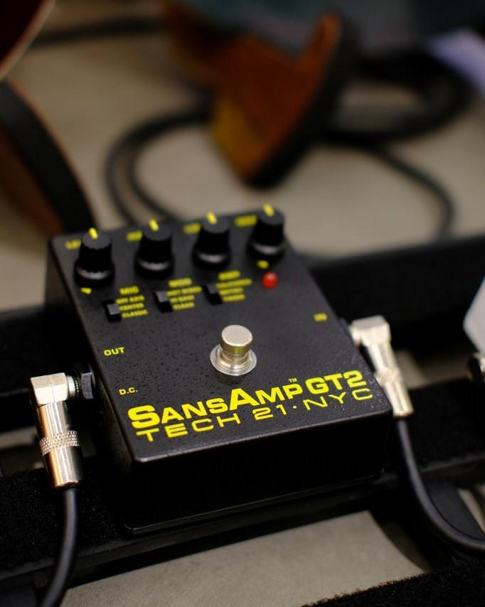 Showcase Tech 21 Sansamp GT2