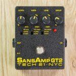 Tech 21 Sansamp GT2 effect ขายราคาพิเศษ