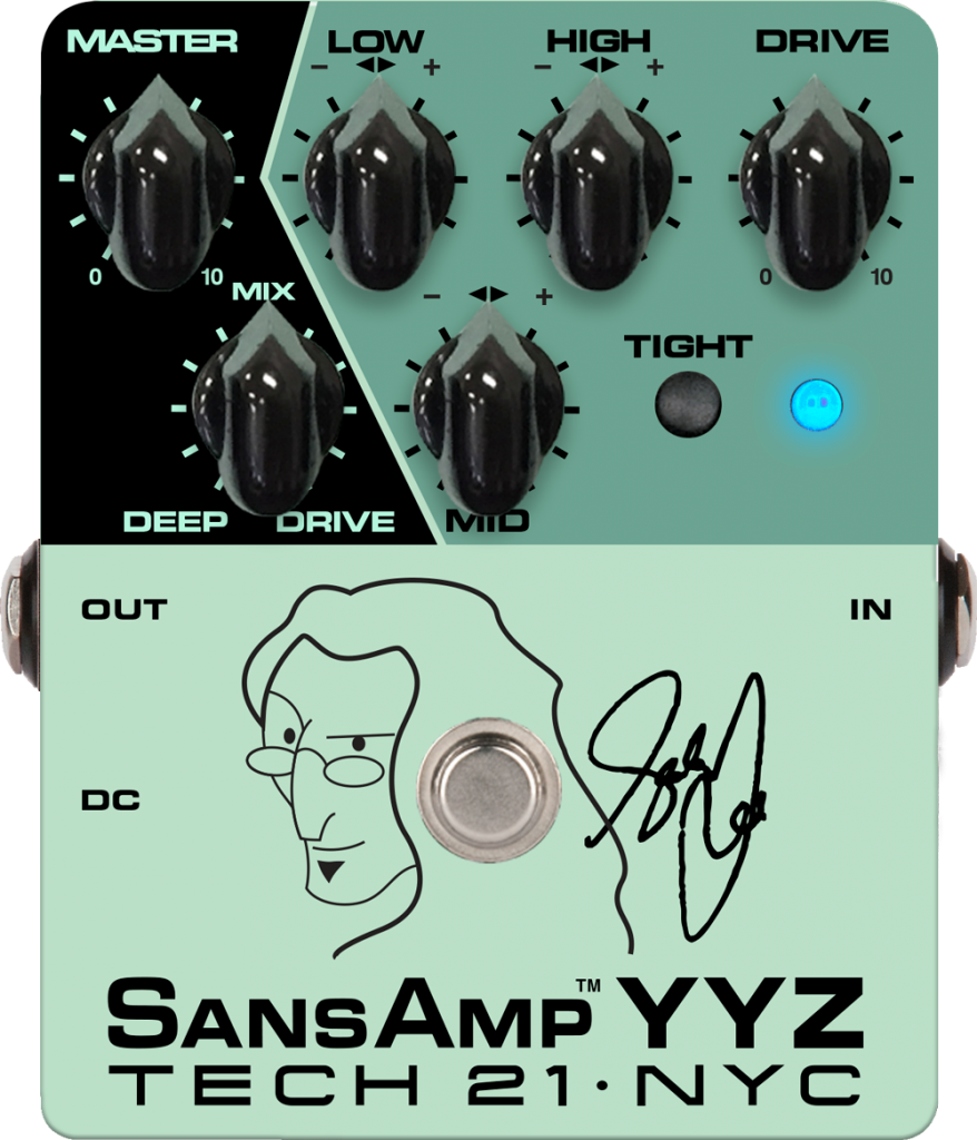 Tech 21 Sansamp Geddy Lee YYZ