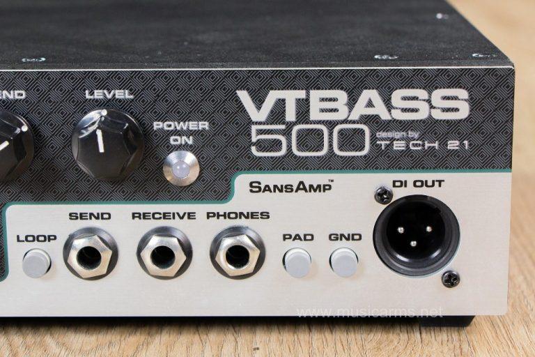Tech 21 VT Bass-500 หัวแอมป์ ขายราคาพิเศษ