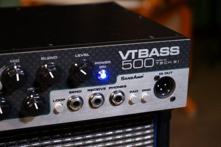 Showcase Tech 21 VT Bass-500