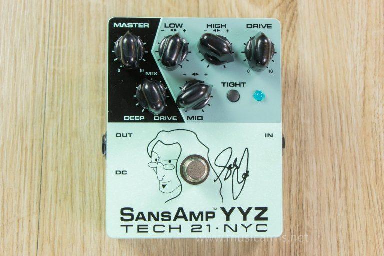 effect Tech 21 Geddy Lee YYZ ขายราคาพิเศษ
