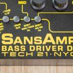 เอฟเฟค Tech 21 SansAmp Bass Driver DI V2 ขายราคาพิเศษ