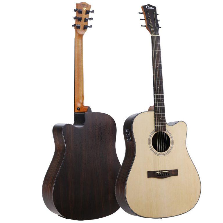 Gusta-DM3CE-Guitar1 ด้านหน้าด้านหลัง ขายราคาพิเศษ