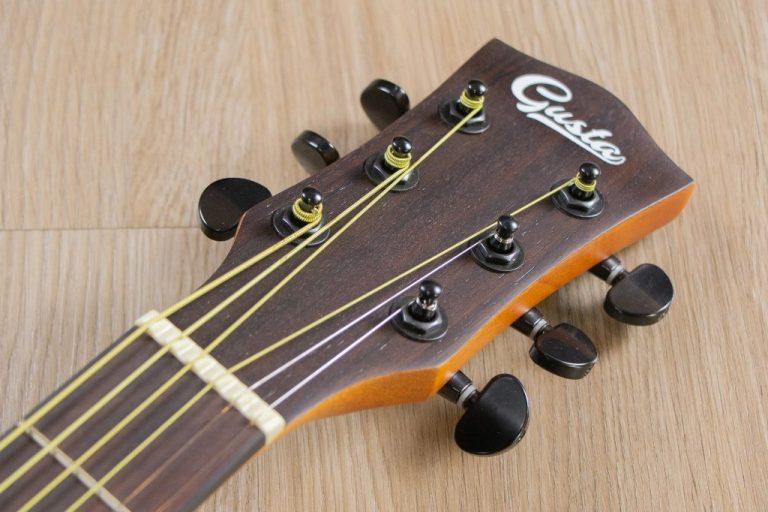 Gusta OM2CE II Acoustic guitar ขายราคาพิเศษ