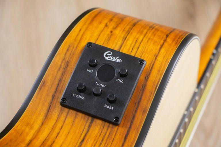 Gusta OM2CE II Guitar ขายราคาพิเศษ