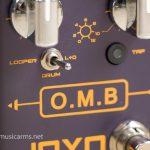Joyo R-06 O.M.B. Looper and Drum Machine effect ขายราคาพิเศษ