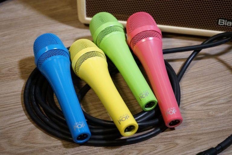 Showcase MXL LSM-9 Pop Dynamic Vocal Microphone