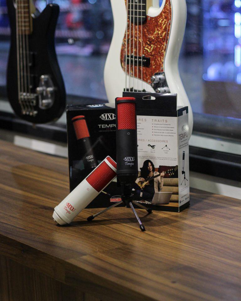 Showcase MXL Tempo USB Condenser Microphone