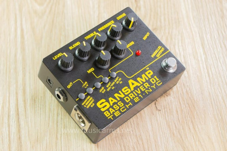 Tech 21 SansAmp Bass Driver DI V.2 เอฟเฟค ขายราคาพิเศษ