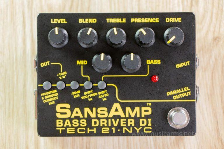 Tech 21 SansAmp Bass Driver DI V2 เอฟเฟค ขายราคาพิเศษ