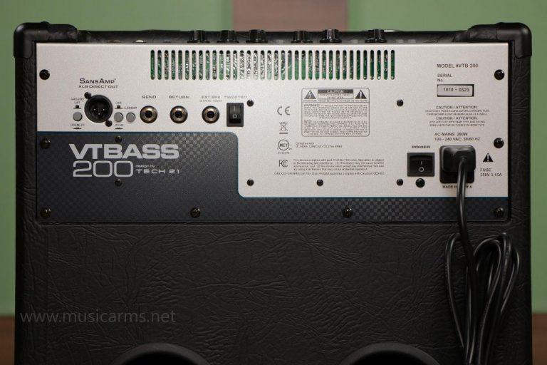 Tech 21 VT Bass 200 แอมป์เบส ขายราคาพิเศษ